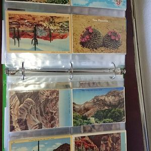 Antique and vintage postcards from Arizona
